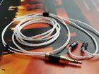 1x Occ Silver Cable 0.78MM UE18 2Pin JH UE Westone W4R UM3XRC