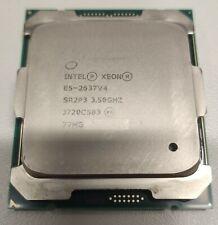 Intel Xeon E5 2637 v4 3.50 GHz 4C/8T SR2P3 LGA2011-3 Server WS MAC 14nm Turbo