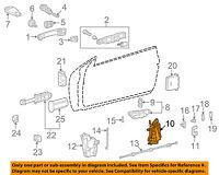 GENUINE OEM MERCEDES-BENZ MB Left Driver Side Door-Lock Actuator 208 720 01 35