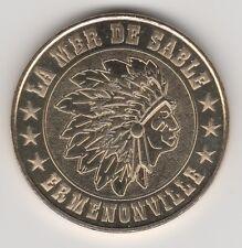 -- 2012 COIN MEDAILLE TOKEN JETON MONNAIE DE PARIS-- 60 950 MER DE SABLE INDIEN
