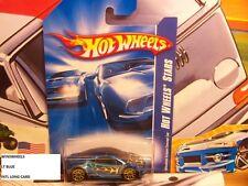 HOT WHEELS 2007 #108 -156-5 MITSUBISHI ECLIPSE CONCEPT CAR BLU INTL LONG