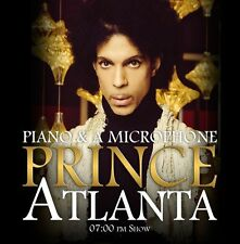 PRINCE CD Atlanta - Piano & A Microphone Final Show Archive NEW 2016