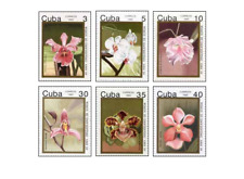 KUB9203 Flowering Orchids 6 pcs MNH 1992