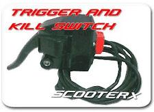 43cc Gas Petrol powered Skateboard Mountain Board Throttle Trigger KIll Switch