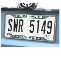 New NFL Philadelphia Eagles Car Truck Premium Chrome Metal License Plate Frame