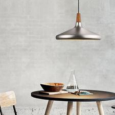 Wood Pendant Light Modern Ceiling Lights Kitchen Lamp Office Chandelier Lighting