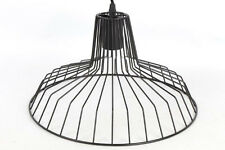 Modern Black Pendant Industrial Vintage Retro Wire Metal Ceiling Light Shade