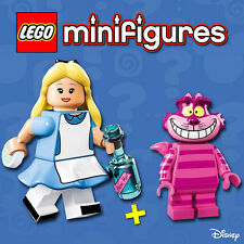 LEGO Disney Minifigures #71012 - Alice + Cheshire Cat / Chat - NEW - SEALED