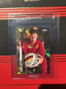 2020 Topps Chrome Sapphire Formula 1 Sebastian Vettel #3 Sp Gold Parallel /50
