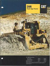 Equipment Brochure - Caterpillar - D9R - Track-type Tractor - 1995 (E3988)