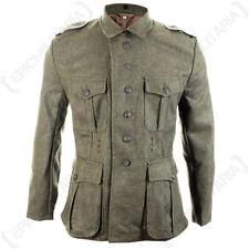 WW2 German M41 Field Grey Tunic - Repro Army Soldier Uniform Jacket All Sizes