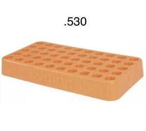 Lyman's .530 Custom Fit Loading Block  #7728093