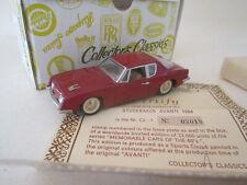 Buby Collector's Classics C2-1. 1:43 1964 Studebaker Avanti dark red MINT BOXED