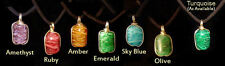 Cremation Keepsake Pendant - Ashes In Hand Crafted Glass