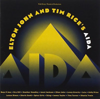 ELTON JOHN & TIM RICE do AIDA  CD New Walt Disney Album Gift Idea Musical UK