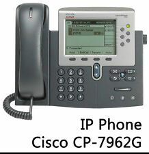 CISCO SYSTEMS UNIFIED IP-PHONE IP TELEFON 7962G VOIP CP-7962G -B01