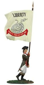 Britain 18061 American Revolution Continental Infantry Advancing Flagbearer New