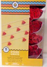 Target Watermelon Slice 10 Count String Light Indoor Outdoor RV Party Summer New