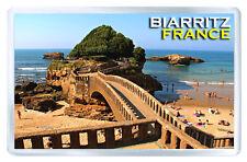 Biarritz France MOD4 Aimant Souvenir Aimant Frigo
