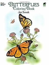 Dover Publications-Butterflies Coloring Book (Dove