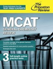 MCAT General Chemistry Review: New for MCAT 2015 (Graduate School Test-ExLibrary