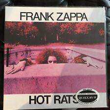 FRANK ZAPPA - HOT RATS CLASSIC RECORDS SEALED VINYL LP 200 GRAM QUIEX SV-P
