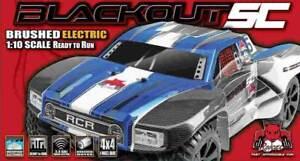 Redcat Racing 4x4 WTC Blackout SC 1/10 Skala 2,4 GHz elektrisch Modell