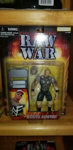 WWF JAKKS STONE COLD STEVE AUSTIN RAW IS WAR SERIES WRESTLING ACTION FIGURE MOC