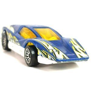 Hot Wheels 1974 World Street Race Aeroflash/Silver Bullet Blue