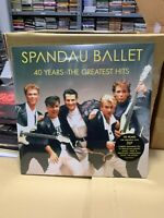 Spandau Ballet 2 LP 40 Years The Greatest Hits Versiegelt 2020