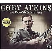 Chet Atkins In Three Dimensions/Finger Style Guitar 2on1 CD NEW SEALED Country