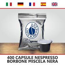 400 CAPSULE COMPATIBILI NESPRESSO BORBONE RESPRESSO MISCELA NERA ITALIANFEEL