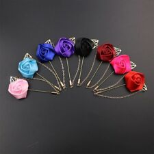 New Wedding Flower Corsage Lapel Pin Brooch Suits Boutonniere Suit Stick Pins