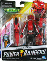 "Power Rangers Beast Morphers Red Ranger 6"" Action Figure Toy Inspired by The TV"