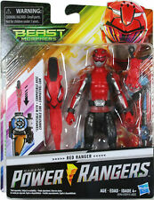 """Power Rangers Beast Morphers Red Ranger 6"""" Action Figure Toy Inspired by The TV"""