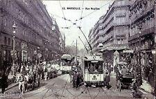 POSTAL FRANCIA - MARSEILIE - Rue Noailles - MBC