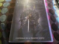 """COFFRET 5 DVD NEUF """"GAME OF THRONES - SAISON 1"""""""