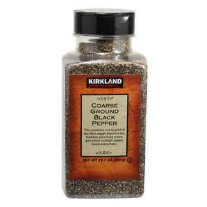 🔥 Kirkland Signature Coarse Ground Black Pepper 12.7 oz (359g) Free Shipping 🔥