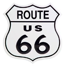 Historic Route 66 Tin Sign Man Cave Tavern Garage Shop Collectable