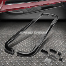 "FOR 04-15 TITAN EXT CAB BLACK CARBON STEEL 3"" SIDE STEP NERF BAR RUNNING BOARD"