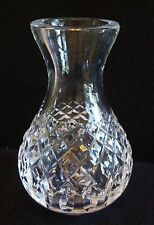 """Waterford Crystal Bowl Based Glass Vase 5.25"""" tall"""