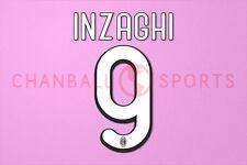 Inzaghi #9 2009-2010 AC Milan Homekit Nameset Printing