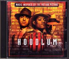 Hoodlum Music Inspired by FILM CD Mobb Deep Wu-Tang Clan Tony Rich Big Bub 112