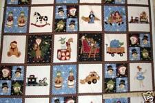 "Toys Toys Toys Santa Northcott Christmas Fabric Panels 23""  #3109"