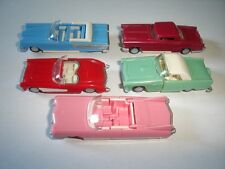 AMERICAN LIMOUSINES 1950's CLASSIC MODEL CARS SET 1:87 H0 - KINDER SURPRISE