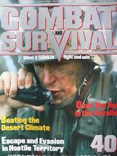 COMBAT AND SURVIVAL MAGAZINE ISSUE 40 - ESCAPE & EVASION