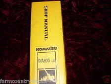Komatsu WA600-1LC Wheel Loader Service Manual