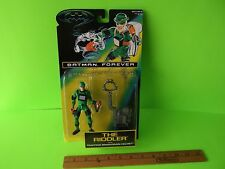 """Batman Forever The Riddler 5""""in Figure w/Trapping Brain-Drain Helmet! Kenner toy"""