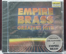 Rare Empire Brass Greatest Hits CD 14 Tracks New Telarc 64 mins Sealed MINT DDD