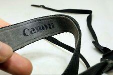 Canon Digital Camera Neck Shoulder Strap Genuine OEM 2.5cm wide Black